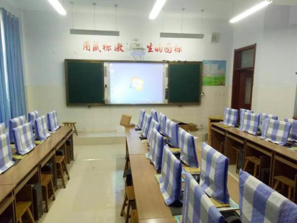 东方中原超宽屏一体机开启山东教学新视界