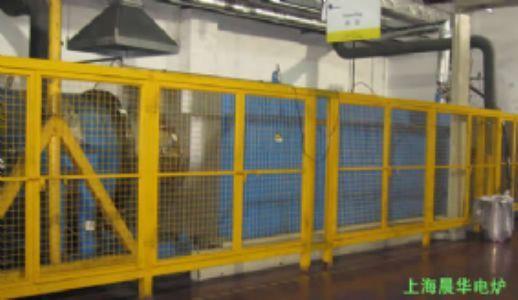 直径900mm气氛保护回转式电炉