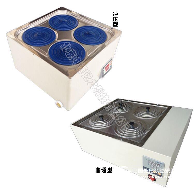 不锈钢数显水浴锅/恒温水浴锅/冲压双列六孔(中西器材) 型号:MW16-HH-6A库号:M405479