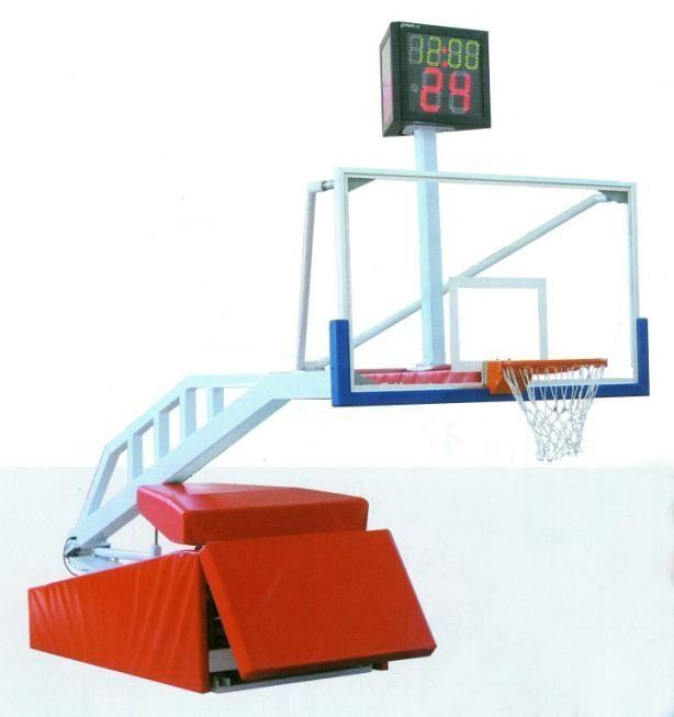 液压折叠移动篮球架
