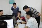 合肥市肥西县教师接受市装备电教中心指导
