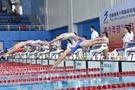 安徽省第十四届运动会青少年部游泳比赛开赛