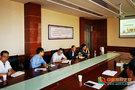 陇东学院领导调研指导农林科技学院工作