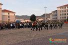 甘肃民族师范学院举行2020年秋学期第一次升国旗仪式