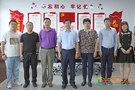 通化师范学院党委书记李才书记到纪委调研指导工作