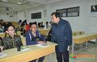 南京邮电大学领导检查2019年春季学期开学第一课