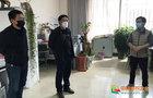 曲靖师范学院副校长张永刚到相关学院指导线上教学工作
