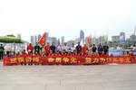 葛道凯一行慰问全国学生运动会江苏帆船代表队