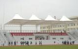 大学体育场主席台膜结构