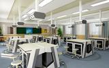 天智直銷整套物理實驗臺課桌椅中學理化生智能考試系統實驗室