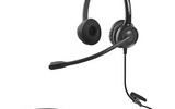 贝恩CS12-PC双插头双耳电脑话务电话耳机