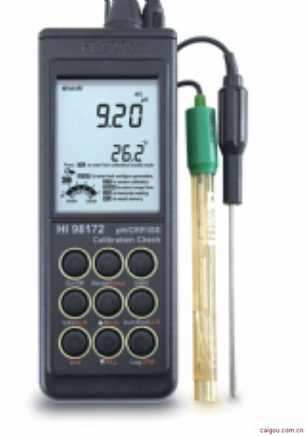 便携式微电脑pH-ORP-ISE-°C 测定仪