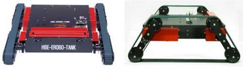 履带式变形机器人训练平台