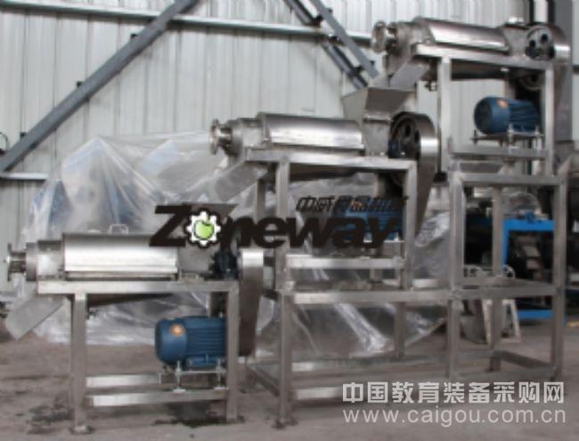 LZ型三级螺旋榨汁机组