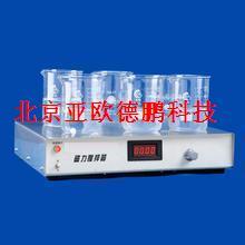 六工位数显磁力搅拌器/六工位磁力搅拌器/磁力搅拌器
