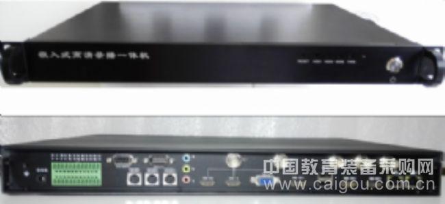嵌入式高清录播一体机(五机位),自动跟踪录播