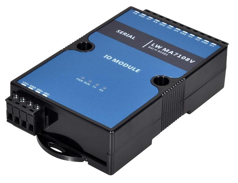 16位分辨率 精度千分之一 模擬量采集模塊 0-5V轉485