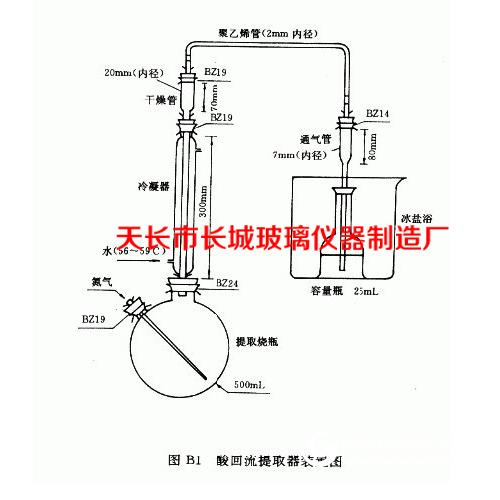 新3 酸回流提取装置 优质玻璃成套仪器