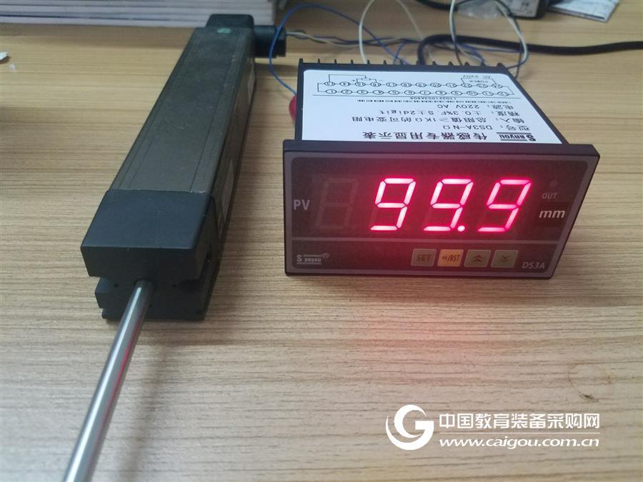 位移傳感器顯示表