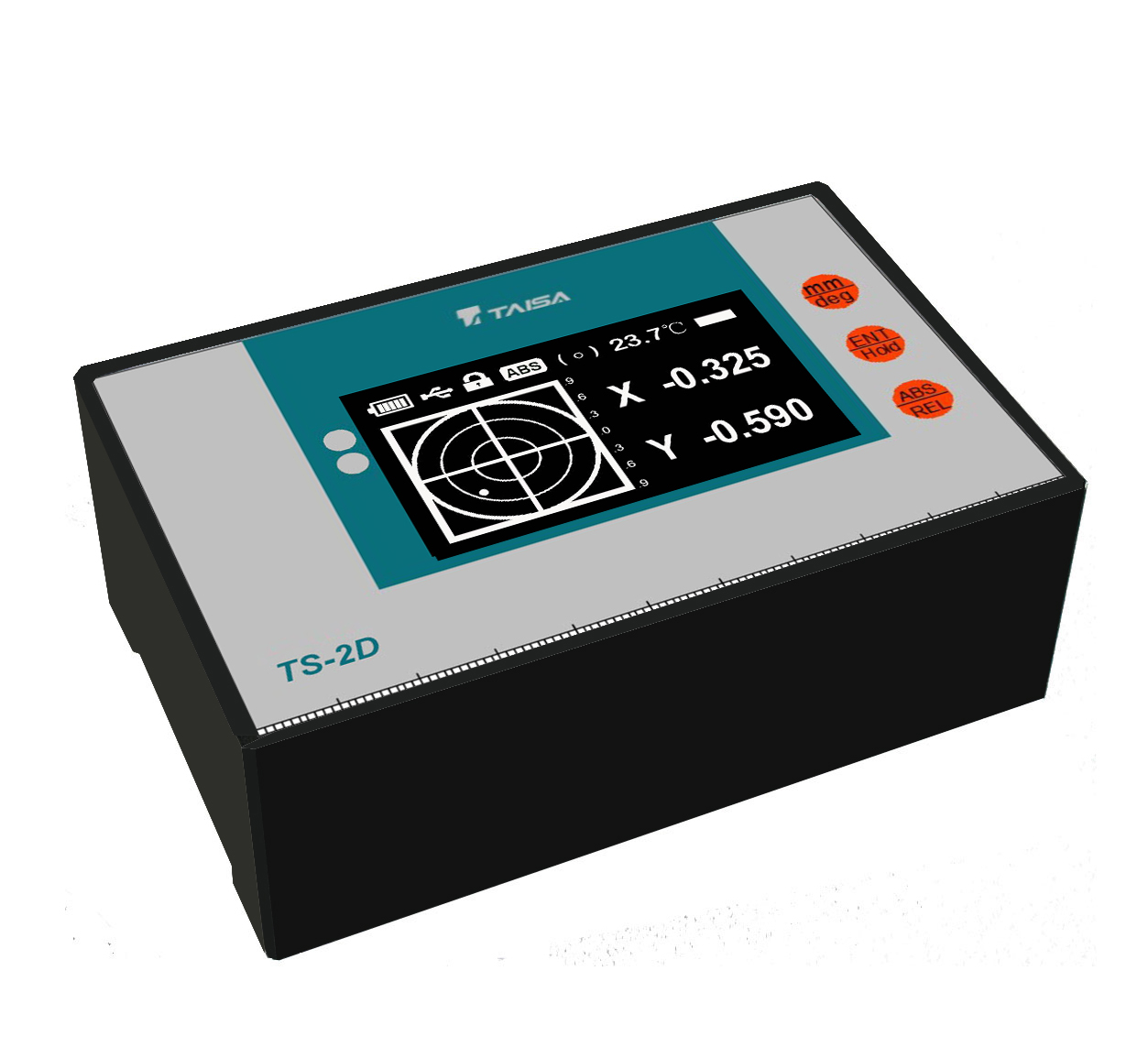 泰薩TS-2D二維,數顯,電子水平儀,水平儀,傾角儀,傾斜儀(無線藍牙/USB/低溫)