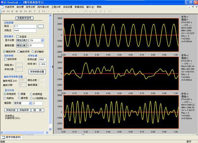E-TestLab工程測試與信號分析軟件