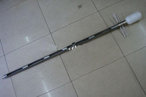 粉末取样器/布袋包取样器Sack Master 常规:直径32mm 长800mm 5孔 取样量在500g以上 此型号都是内外套管的