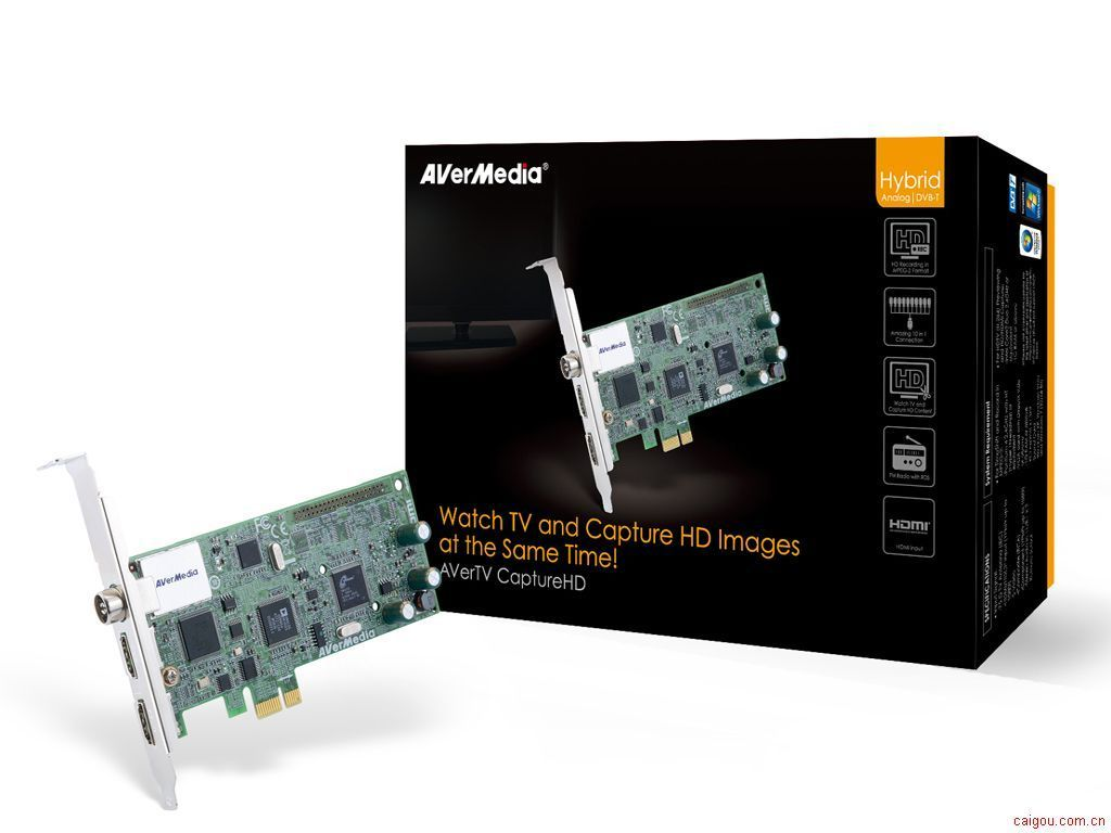 1080全能高清录制电视卡H727 HDMI高清采集卡