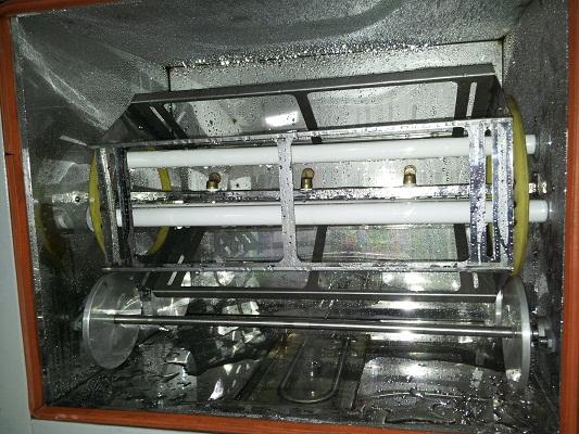 转鼓台式紫外光耐气候试验箱