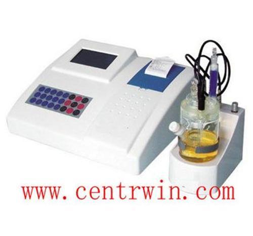 库仑法微量水测定仪(醛酮专用) 型号:SHJF-5