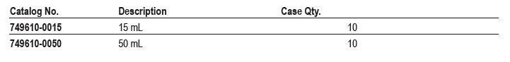 美国kimble CS2无菌组织研磨器50ml 749610-0050