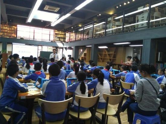 平安里学校超过半数班级用Pad高效互动教学