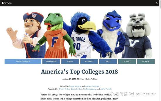 美国大学排行榜解析:如何更好利用排行榜?